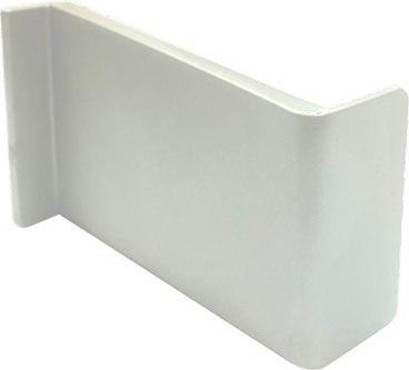 Декоративная накладка Белая на навес регулируемый левый 3800 1