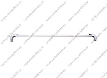 Ручка-рейлинг 320 мм алюминий+хром 14.360 2