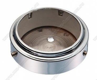 Универсальное крепление для барной трубы d50 мм к полу/потолку в блистере (хром) 1