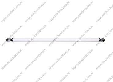Ручка-скоба 320 мм хром/белый 833-320-V1/V6 3
