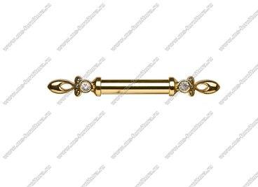 Ручка-скоба 128 мм золото/золото 834-128-V3/V3 3