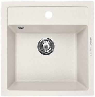 Кухонная мойка Respecta Cubo RC-51 белый камень RC51.105 1