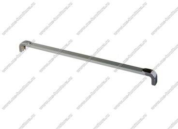 Ручка-рейлинг 320 мм алюминий+хром 14.360 1