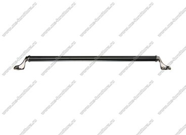 Ручка-скоба 320 мм антрацит/матовый черный 832-320-V4/V5 3