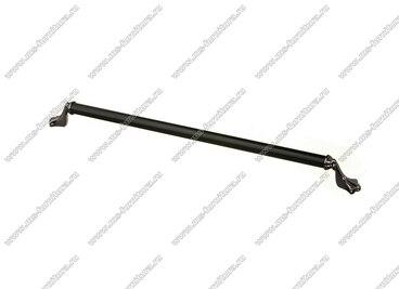 Ручка-скоба 320 мм антрацит/матовый черный 832-320-V4/V5 1