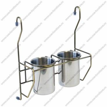Навесные 2 стакана для столовых приборов MX-425 BA 1