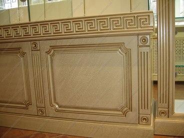 Витрина с фасадами с покрытием Краколет 2