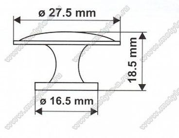 Ручка-кнопка 5054 3
