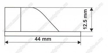Штангодержатель для овальной трубы 2