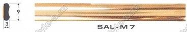 Профиль молдинг Salman M7 золото 2