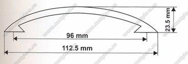Ручка-скоба 96 мм 5003 2