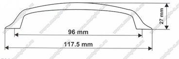 Ручка-скоба 96 мм 5009 3