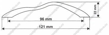 Ручка-скоба 96 мм 5013 3