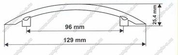 Ручка-скоба 96 мм 5031 2