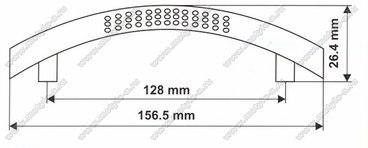 Ручка-скоба 128 мм 5065 2