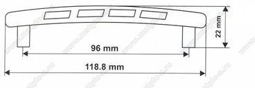 Ручка-скоба 96 мм 5125 3