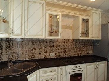 Кухня с фасадами из массива бука Ника KFN-01 6