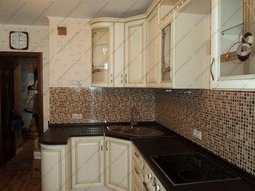 Кухня с фасадами из массива бука Ника KFN-01 7