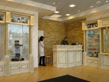 Мебель с фасадами из массива ясеня Ника белый с золотой патиной 5