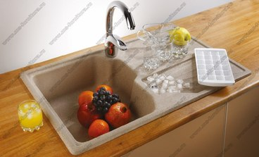 Кухонная мойка из камня G014 4