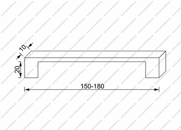 Ручка-скоба 803-Thin 2