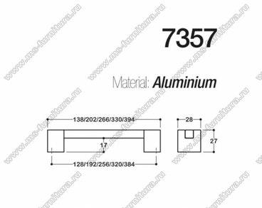 Ручка-скоба 128 мм хром + полированный никель SY7357 0128 CR-NB 2