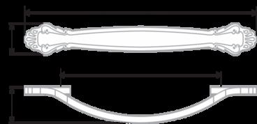 Ручка-скоба 96 мм хром RS430CP/W.4/96 2