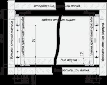 Метабокс 86х300мм белый MB08601W/300 4