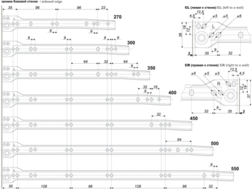 Метабокс 150х300мм белый MB15001W/300 2