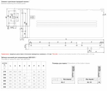 Метабокс 150х300мм белый MB15001W/300 3