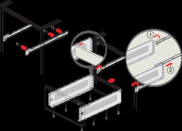 Метабокс 150х350мм белый MB15001W/350 5
