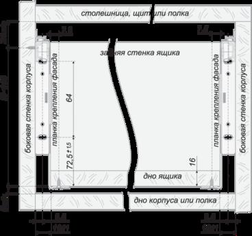 Метабокс 150х450мм белый MB15001W/450 4