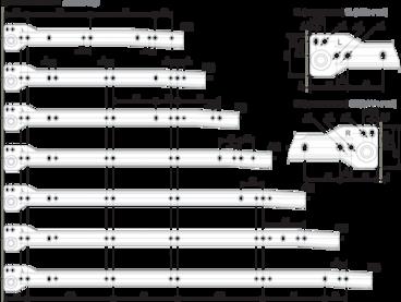 Метабокс 150х500мм белый MB15001W/500 2
