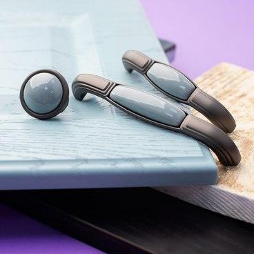 Ручка-скоба 96 мм серый SF13-12-96 GR 2