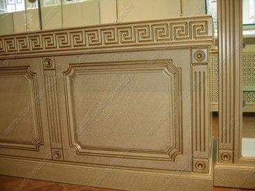 Витрина с фасадами с покрытием Краколет 1
