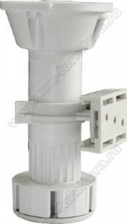 Кухонная опора 120 мм белая 1
