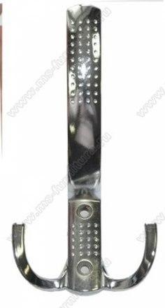 Крючок трехрожковый с перфорацией хром P240-02 1