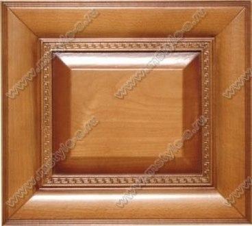 Фасад из бука Ника цвет фундук с коричневой патиной 1