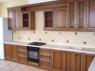 Кухня Виктория V04 (бук) 1