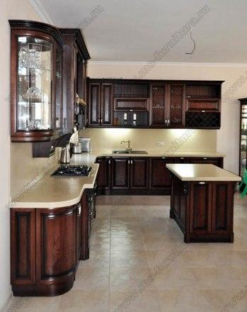 Кухня с фасадами Клио CK-01 1