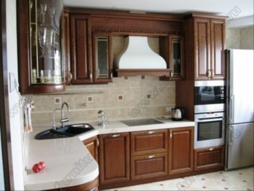 Кухня с фасадами Клио CK-02 1