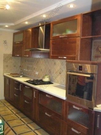Кухня с фасадами Модерн KFM-01 1