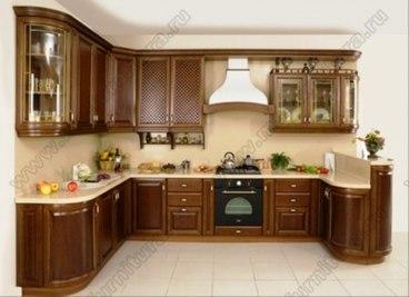 Кухня с фасадами Клио CK-05 1