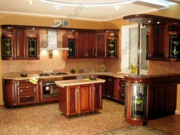 Кухня с фасадами Клио CK-06 1