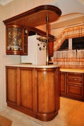 Кухня с фасадами Клио CK-07 1