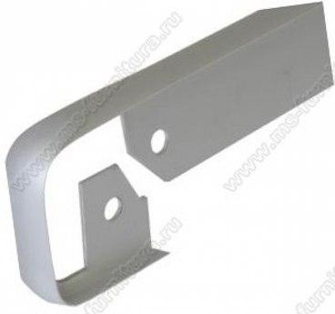 Планка щелевая 38 мм матовый хром 1