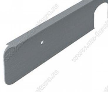 Планка соединительная (угловая) 38 мм матовый хром 1
