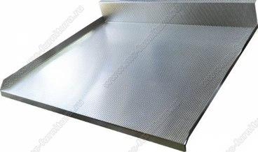 Алюминиевый поддон под мойку 800 мм 1