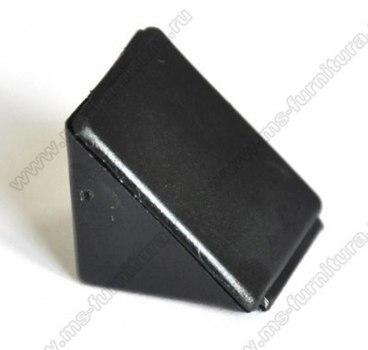 Уголок монтажный пластиковый Черный №22 1