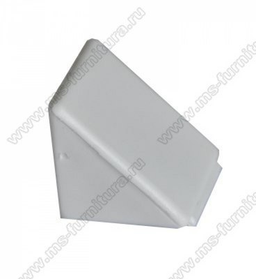 Уголок монтажный пластиковый Белый №23 1